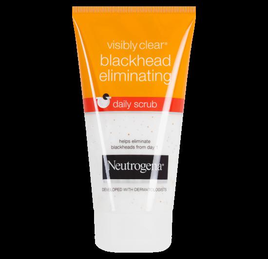 NEUTROGENA VISIBLY CLEAR® Blackhead Eliminating Daily Scrub