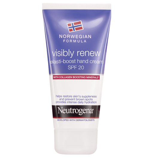 Norwegian Formula Visibly Renew Elasti-boost hand cream SPF20